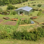 Serre et jardin bio